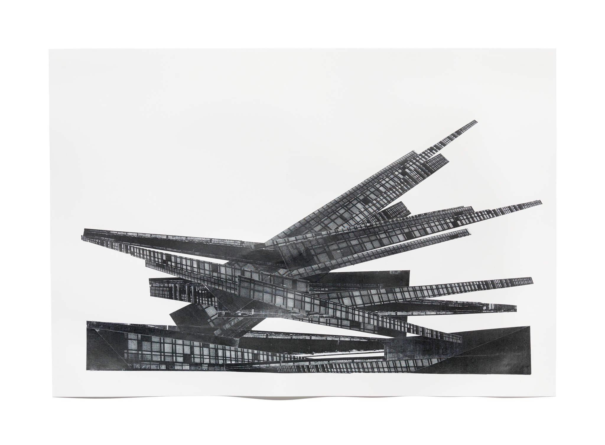 14_Frauke-Dannert_Collage_Papiercollage_-Palast-2_-2011