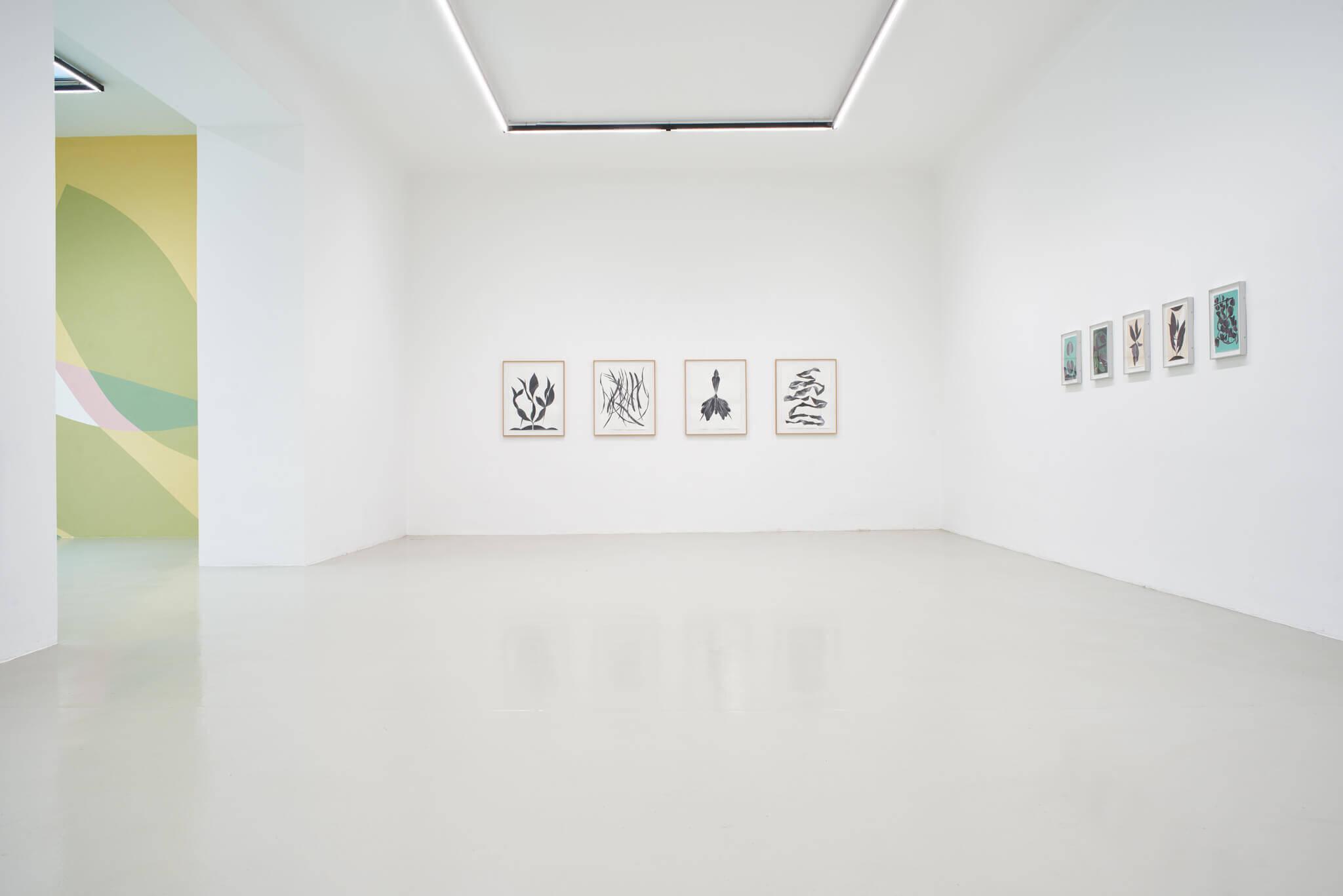04_Frauke Dannert_Collage_Ausstellung_Folie_Galerie Lisa Kandlhofer_Wien_2018