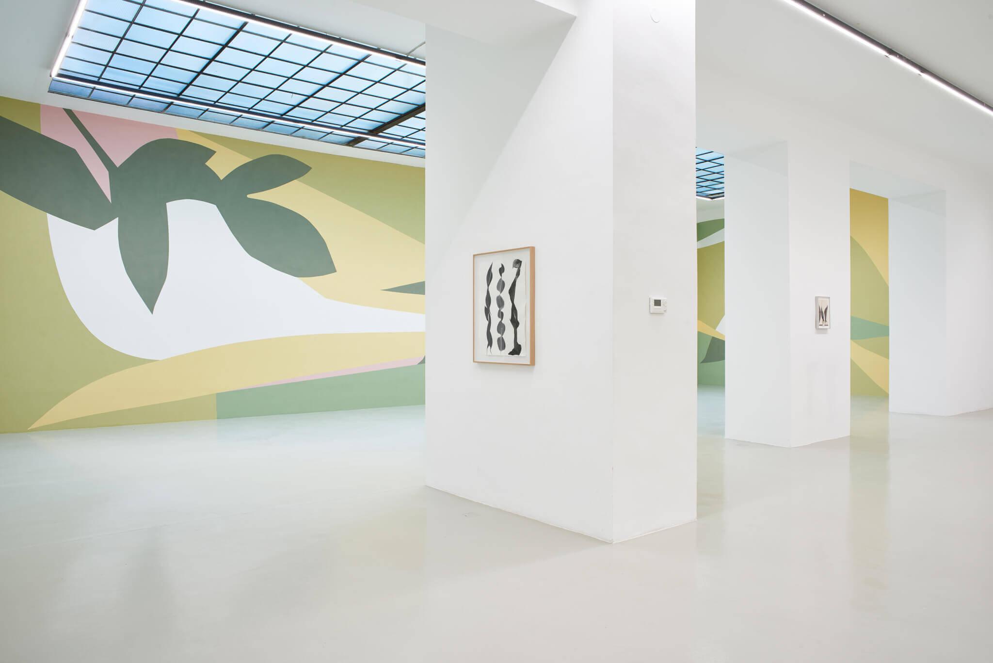05_Frauke Dannert_Collage_Ausstellung_Folie_Galerie Lisa Kandlhofer_Wien_2018